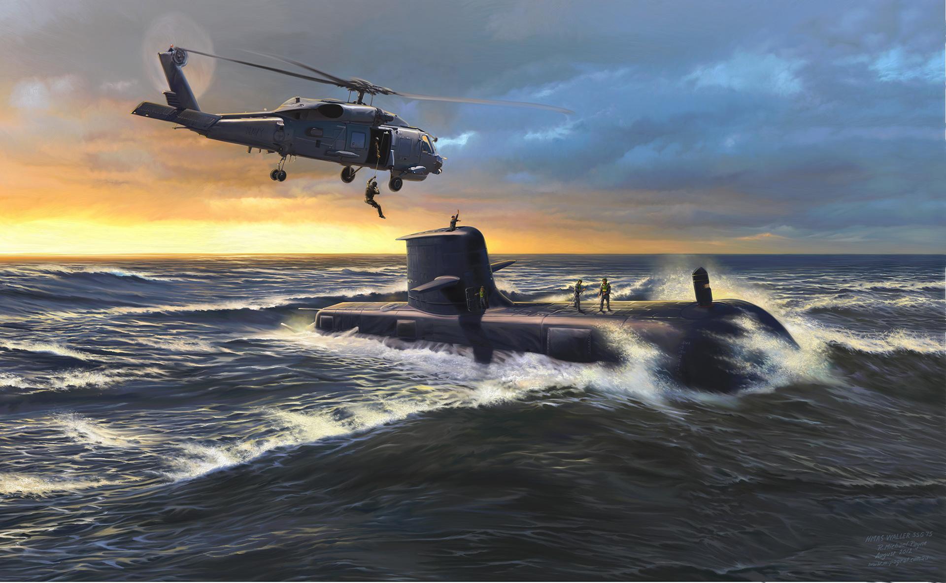 HMAS Waller SSG75