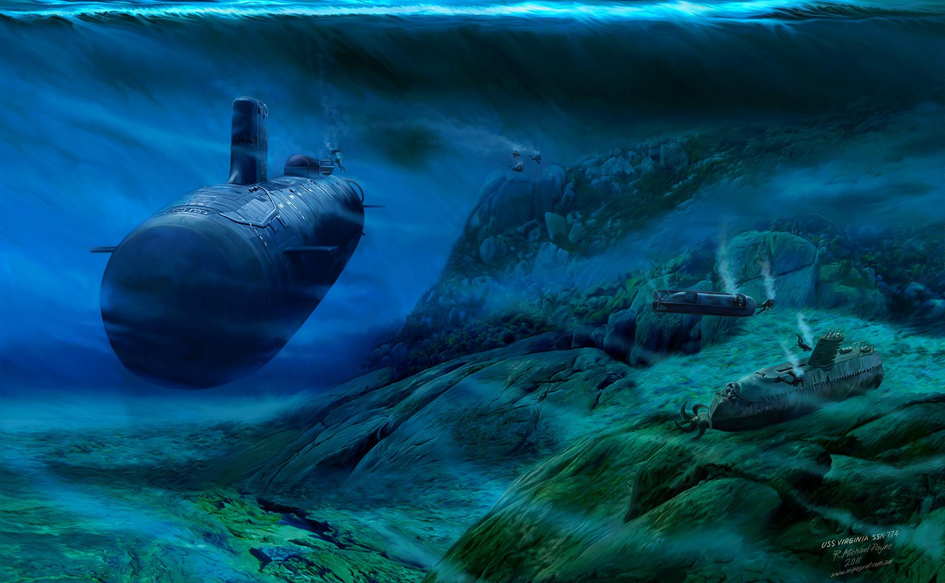 USS Virginia SSN 774