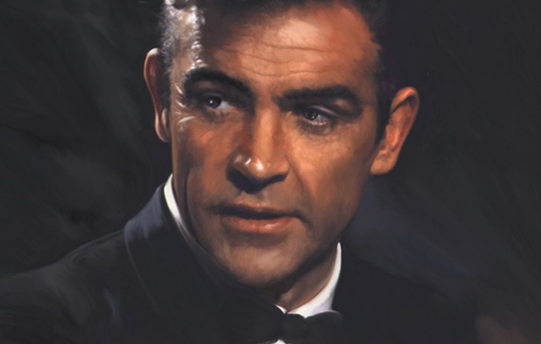 Portrait of Sean Connery