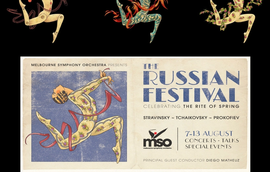 Russian Festival Illustration