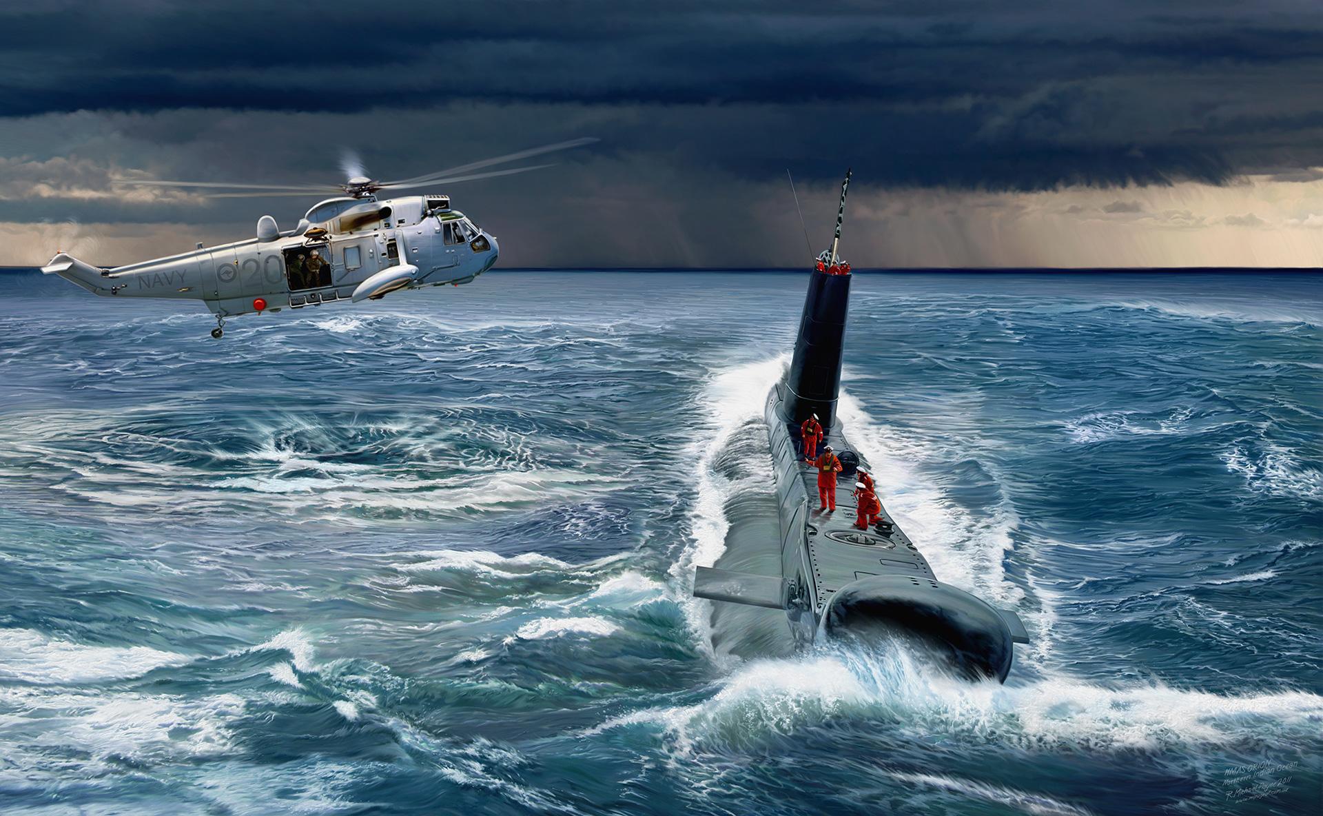 HMAS Orion S71