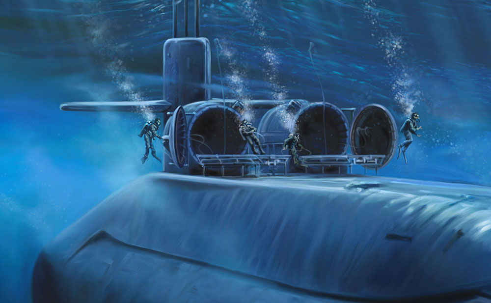 USS Louisiana SSBN-743