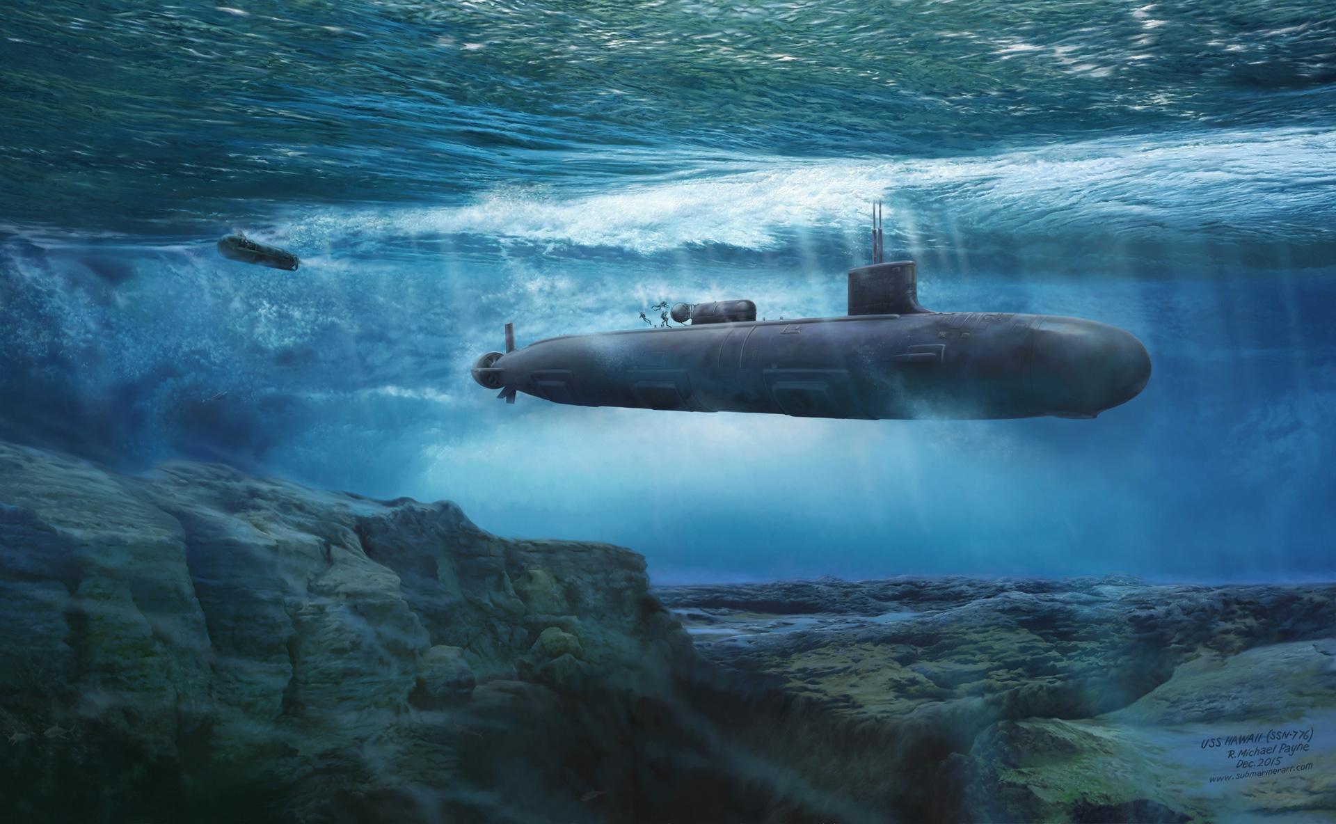 USS Hawaii SSN776